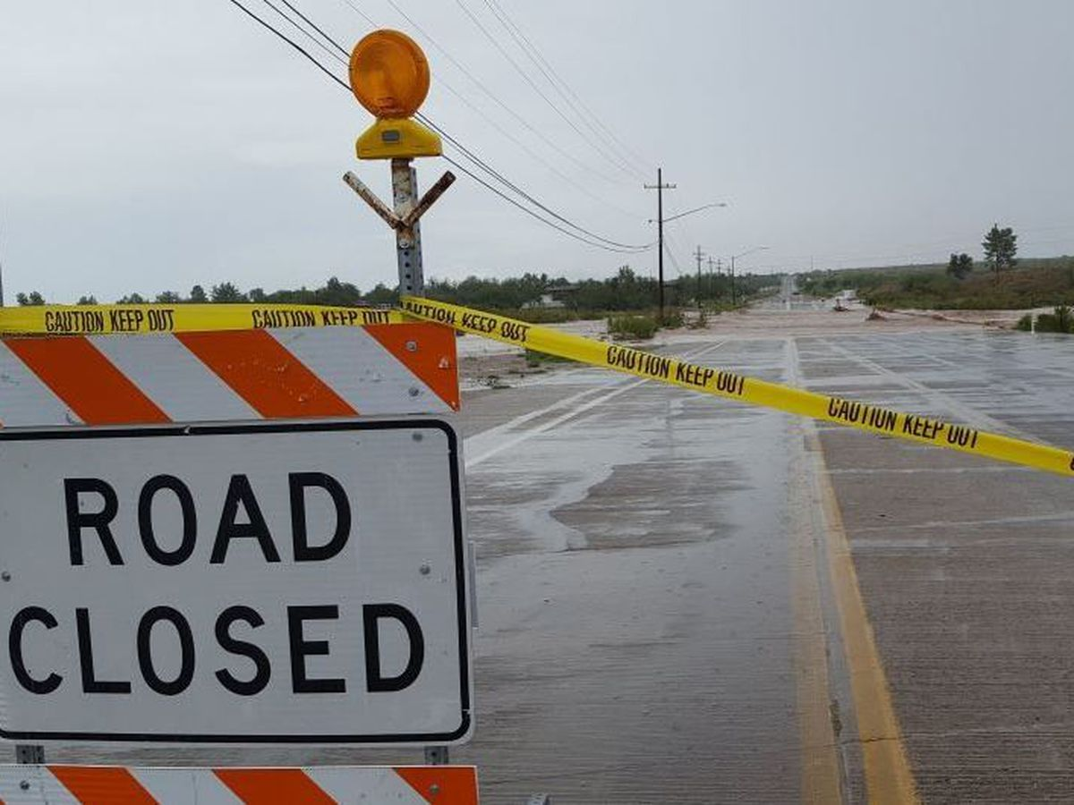 Pima County road closures