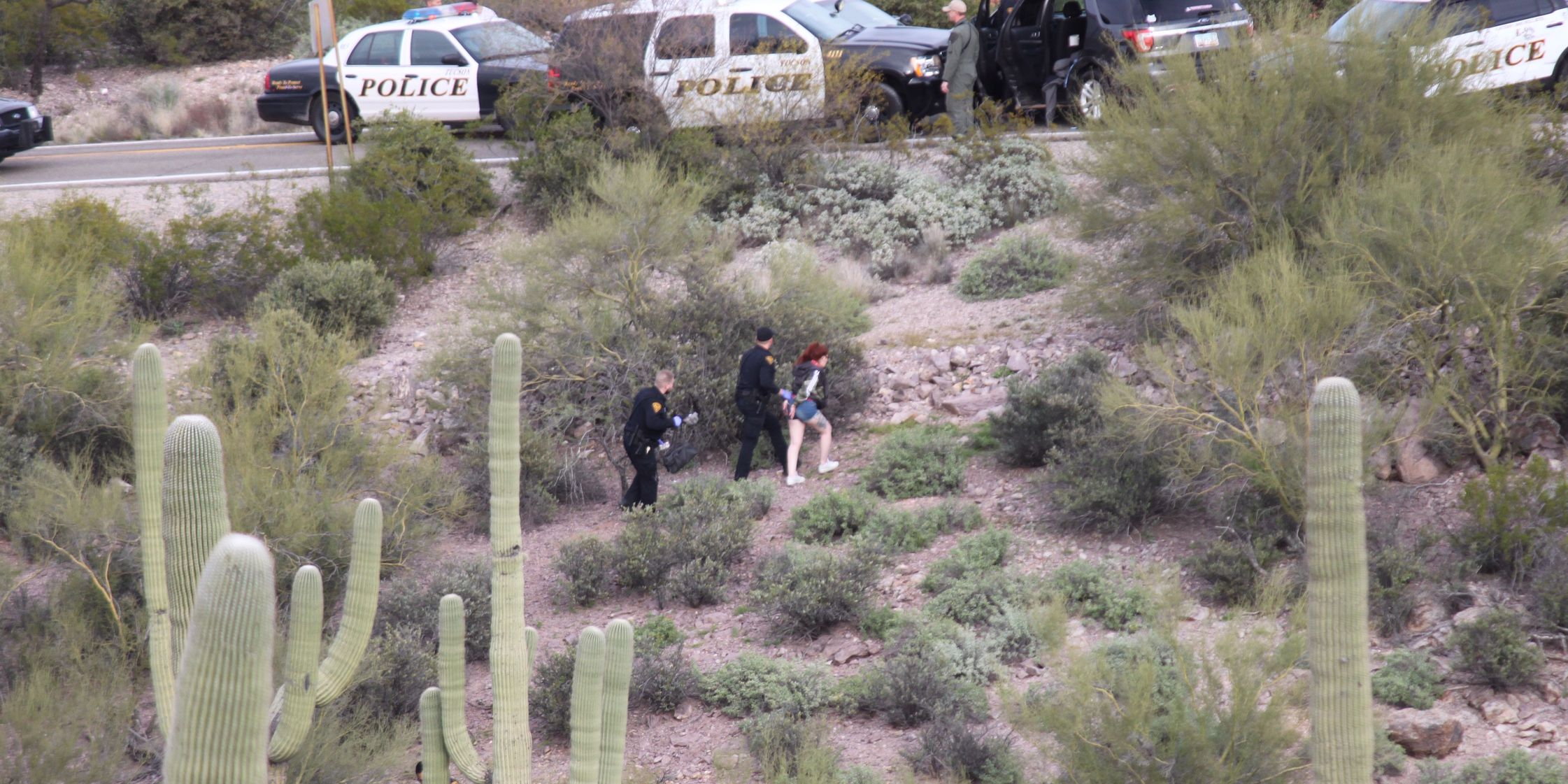WATCH: Armed robbery suspects arrested after chase in Tucson