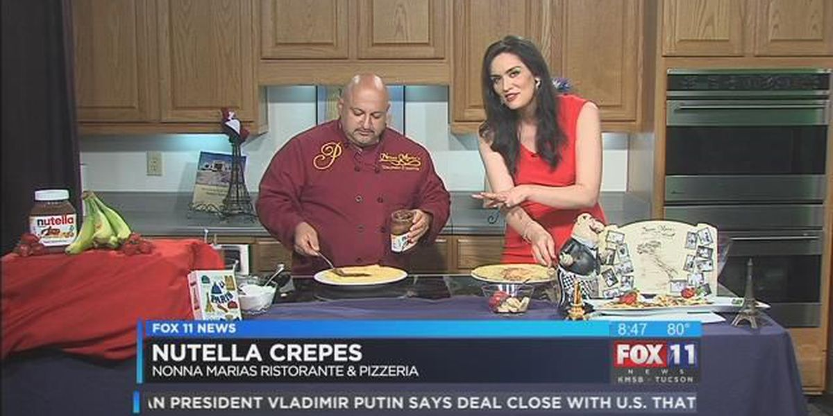 Crepes with Nonna Marias on Fox 11 Daybreak