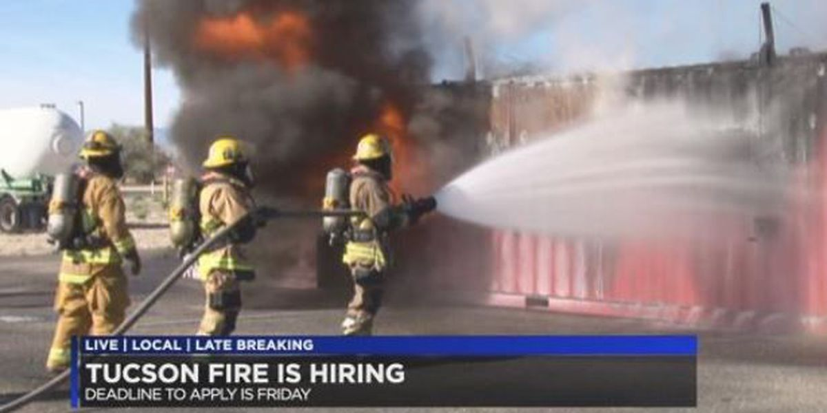 Tucson Fire hiring for 28 positions