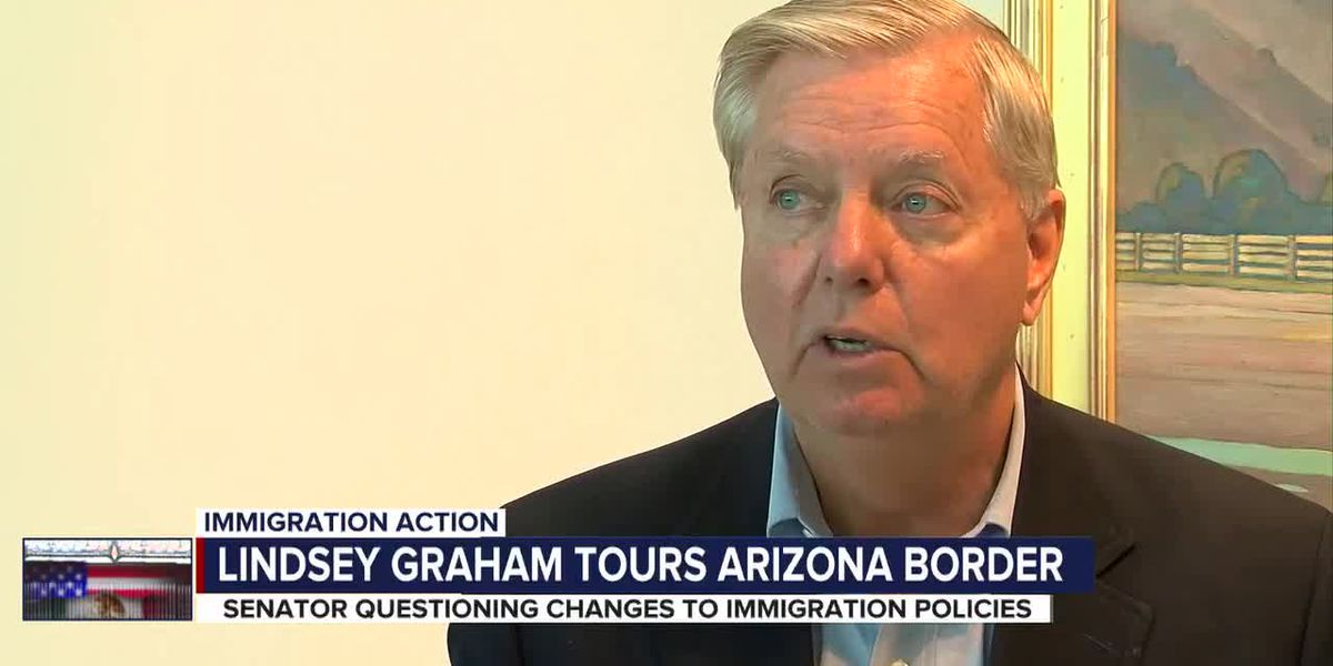 Republican Senator Lindsey Graham tours southern border, raises concern over new immigration policies