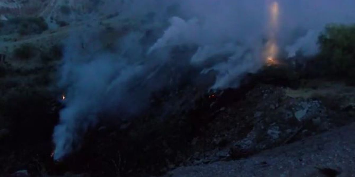 UPDATE: Fire fighters extinguish brush fire on east side