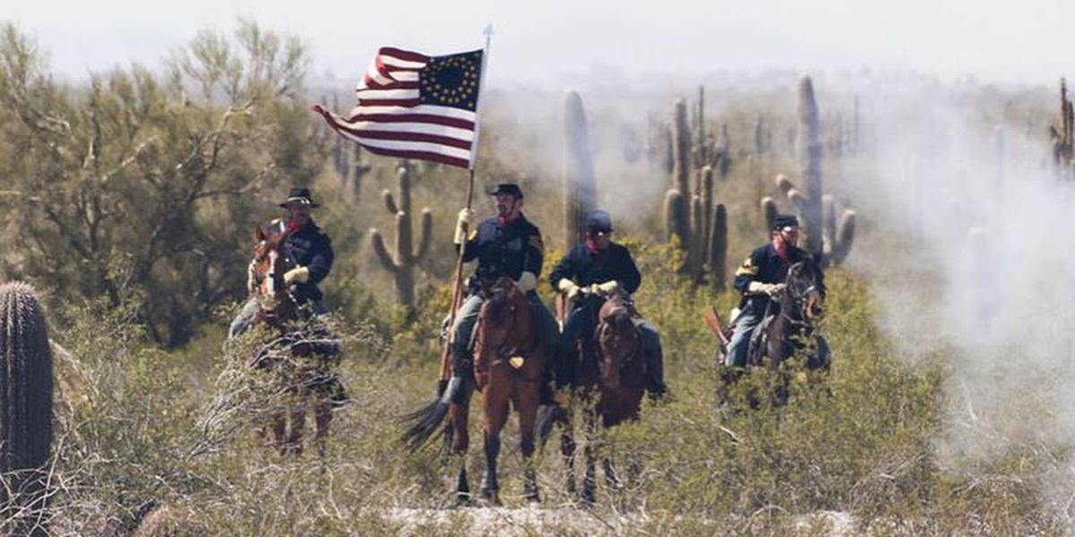 """""""Civil War in the Southwest"""" at Picacho Peak State Park"""