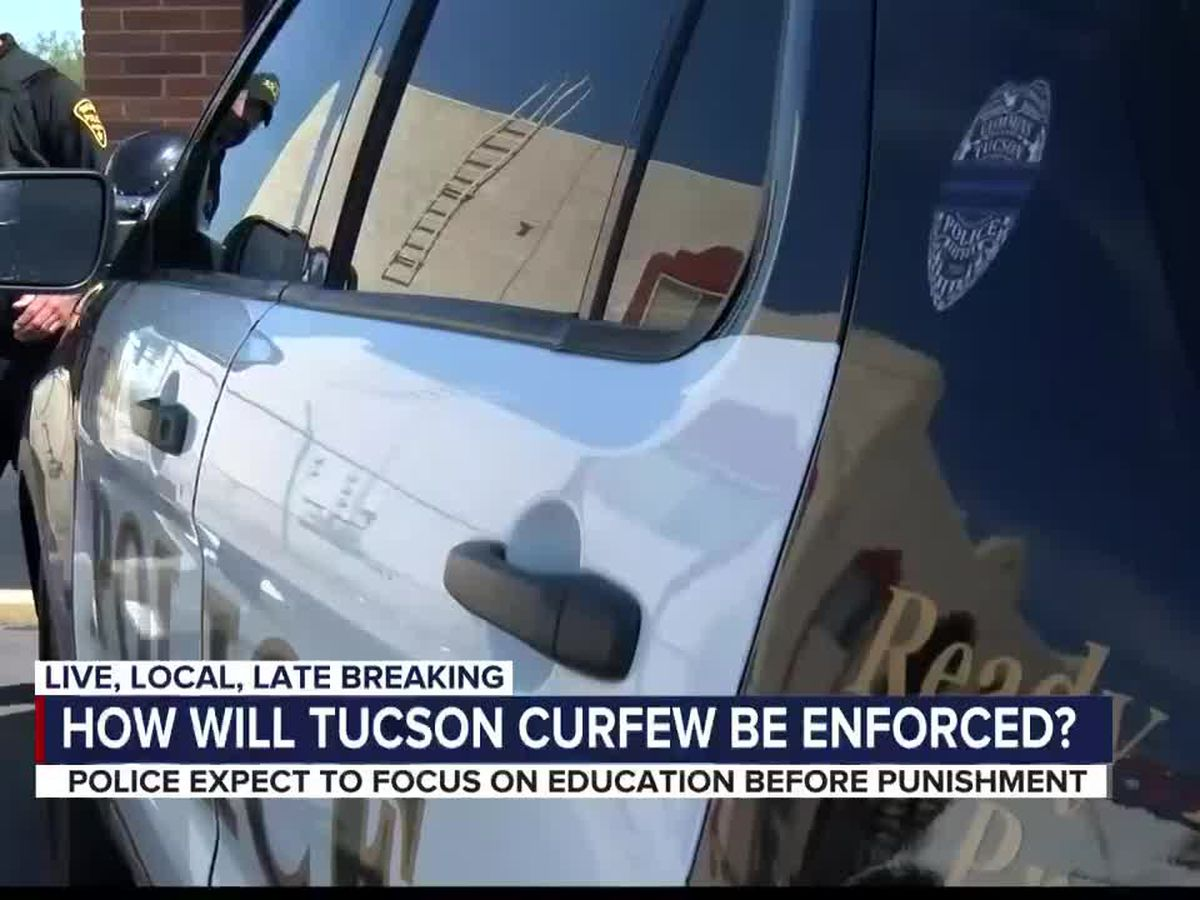 Violation of Tucson's mandatory curfew could result in a $300 fine