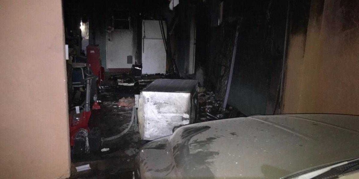 One woman displaced from home after fire near Fort Lowell