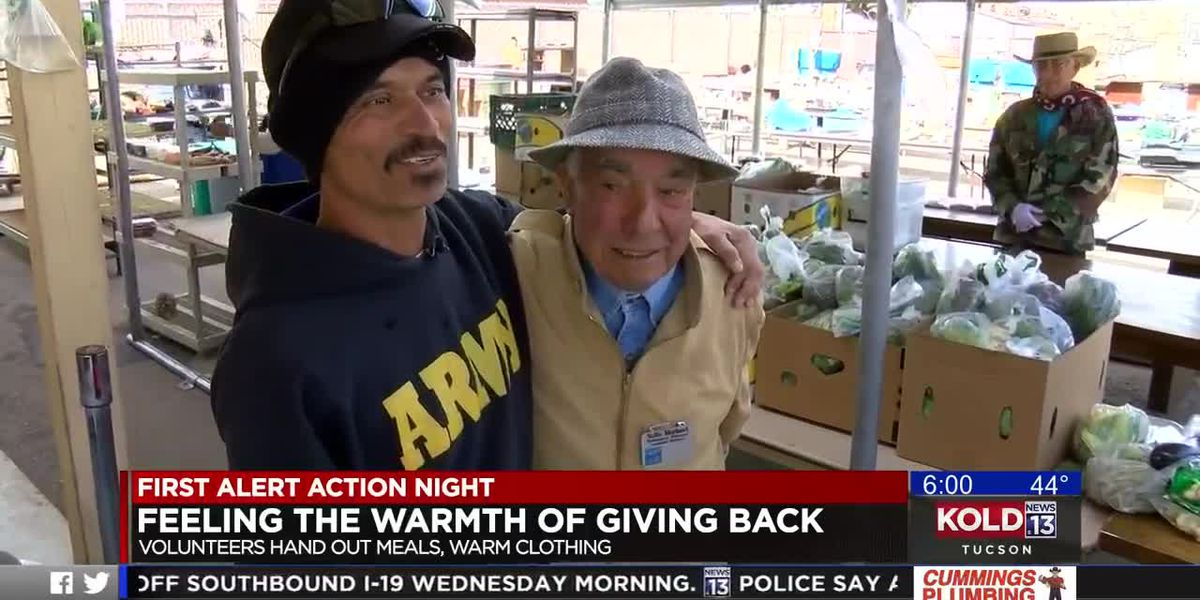 Gospel Rescue Mission volunteers feel the warmth of giving back