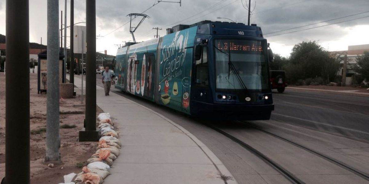 Storm debris shuts down the Modern Streetcar for the first time