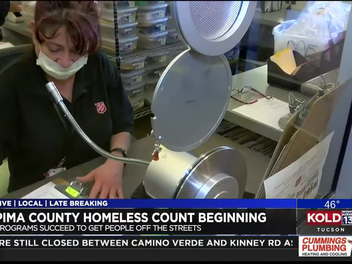 Nonprofits begin annual survey of Pima County homelessness