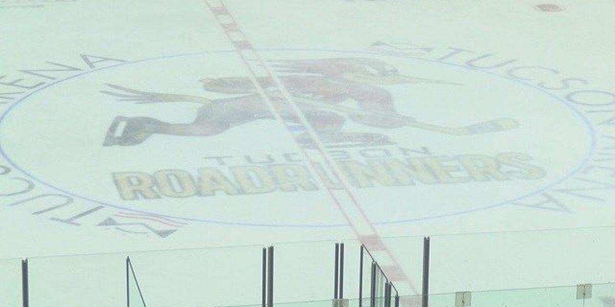 Roadrunners sit in 1st at the AHL break