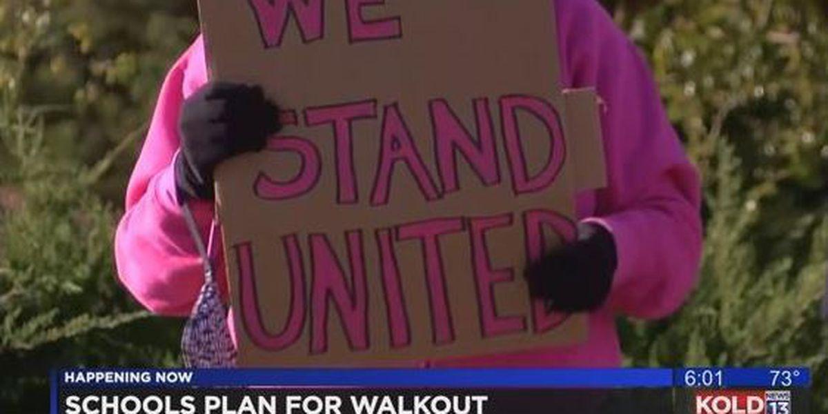 TUSD superintendent talks teacher walkouts