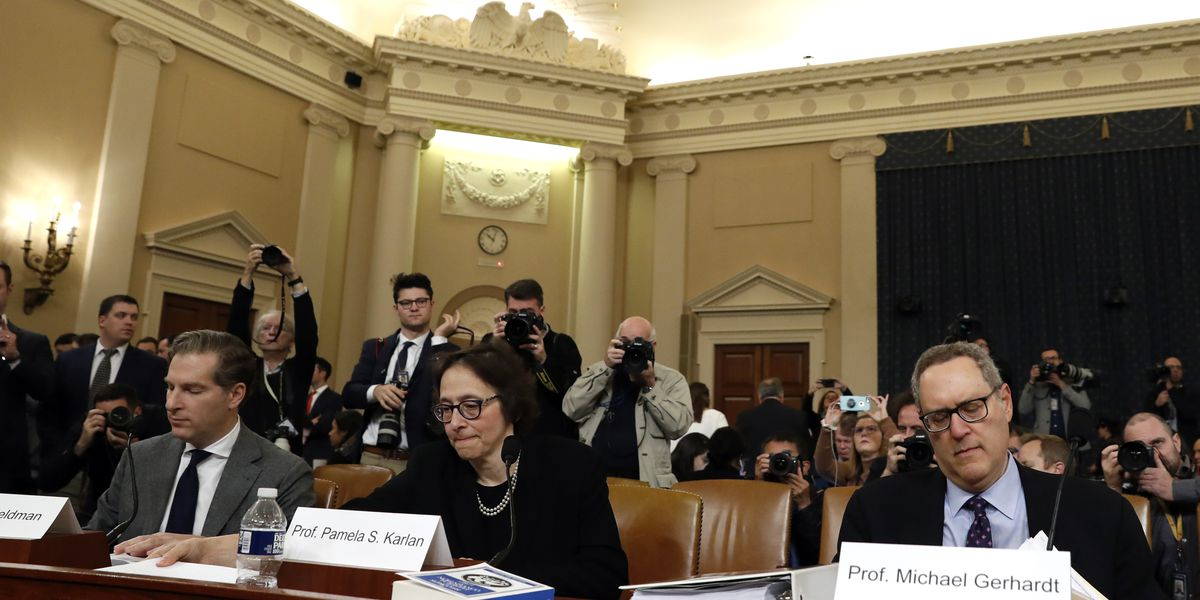 Profs make impeachment case; Democrats say they're all in