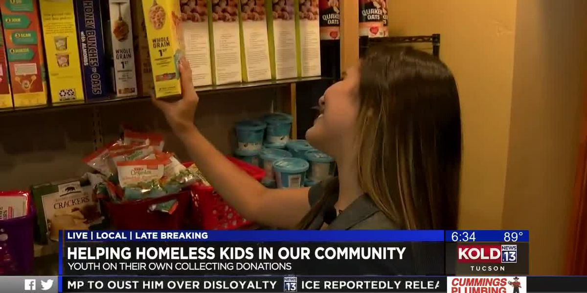 KOLD Helping homeless kids in our community
