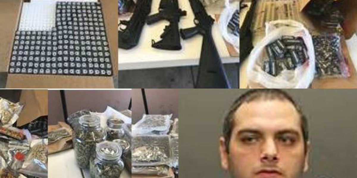 OVPD Community Action Team: Search warrant turns up guns, drugs