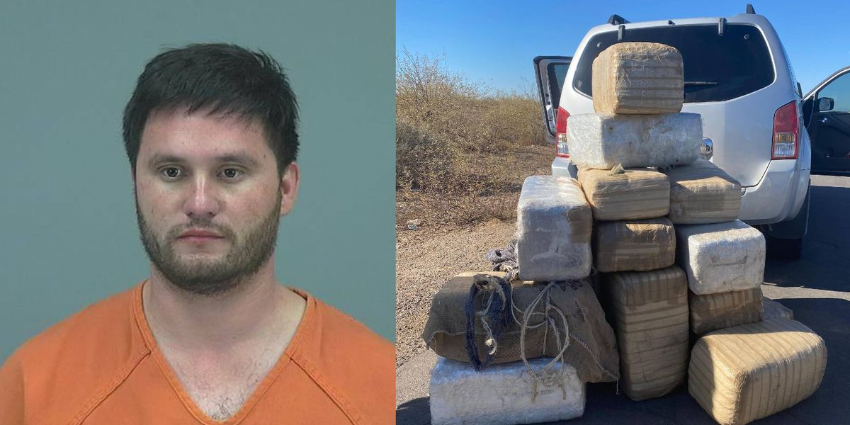 Driver busted in Pinal County with 450+ lbs. of pot