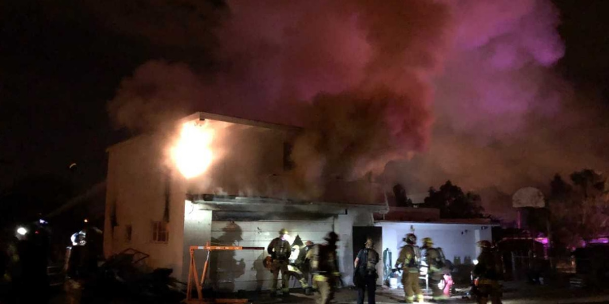 TFD: Crews battle structure fire early Sunday morning