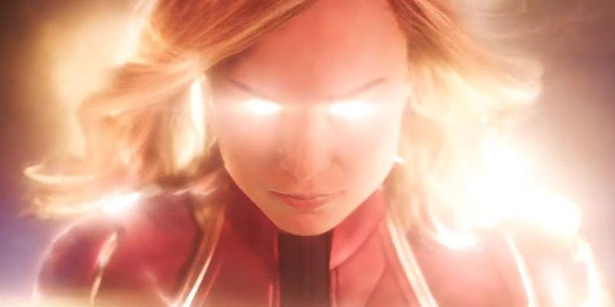 Brie Larson debuts in the Marvel Universe as Captain Marvel