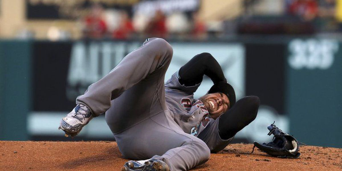 Diamondbacks pitcher Ray is doing well after being hit in head