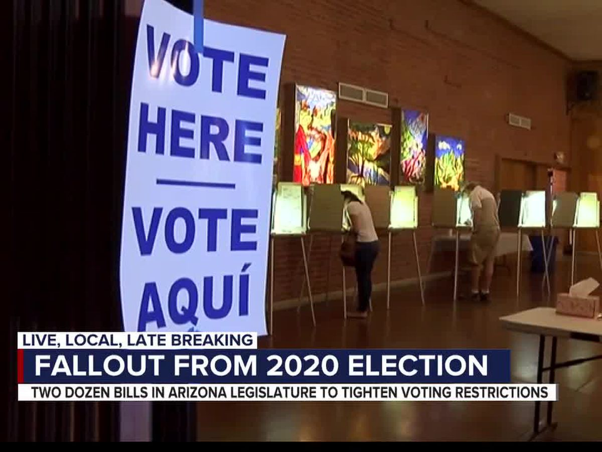 23 voter suppression bills in Arizona legislature
