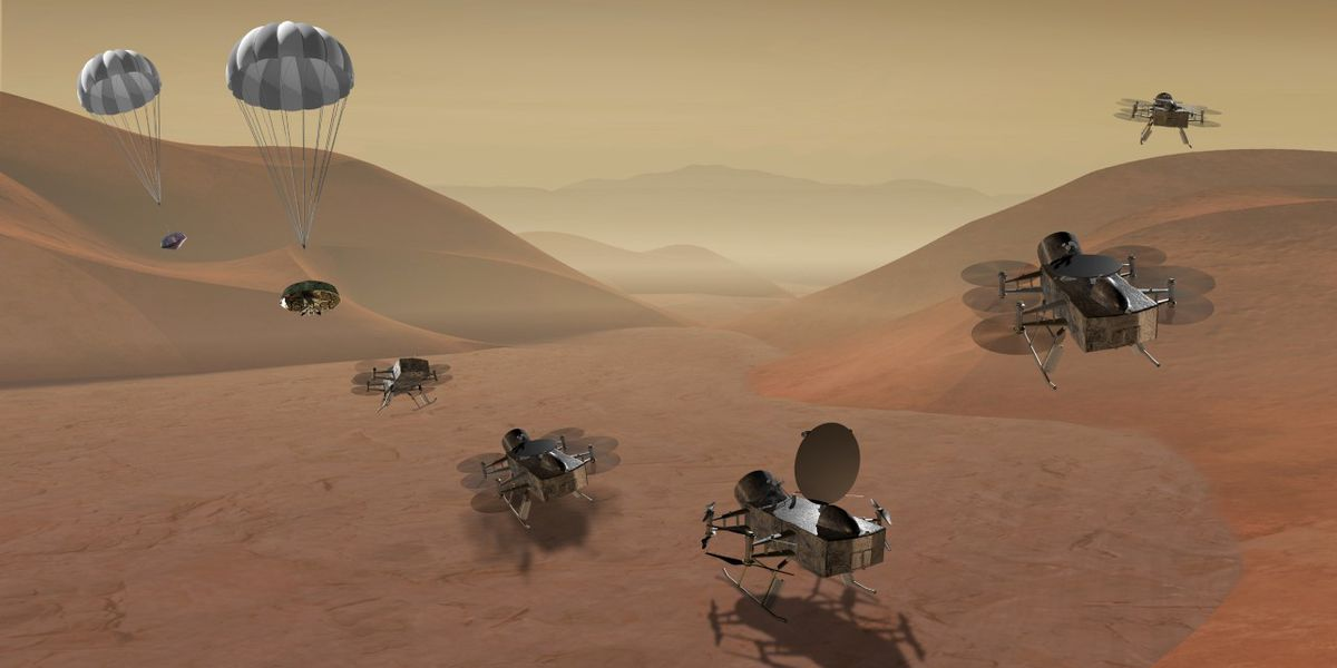 NASA Dragonfly mission to study Titan for origins, signs of life