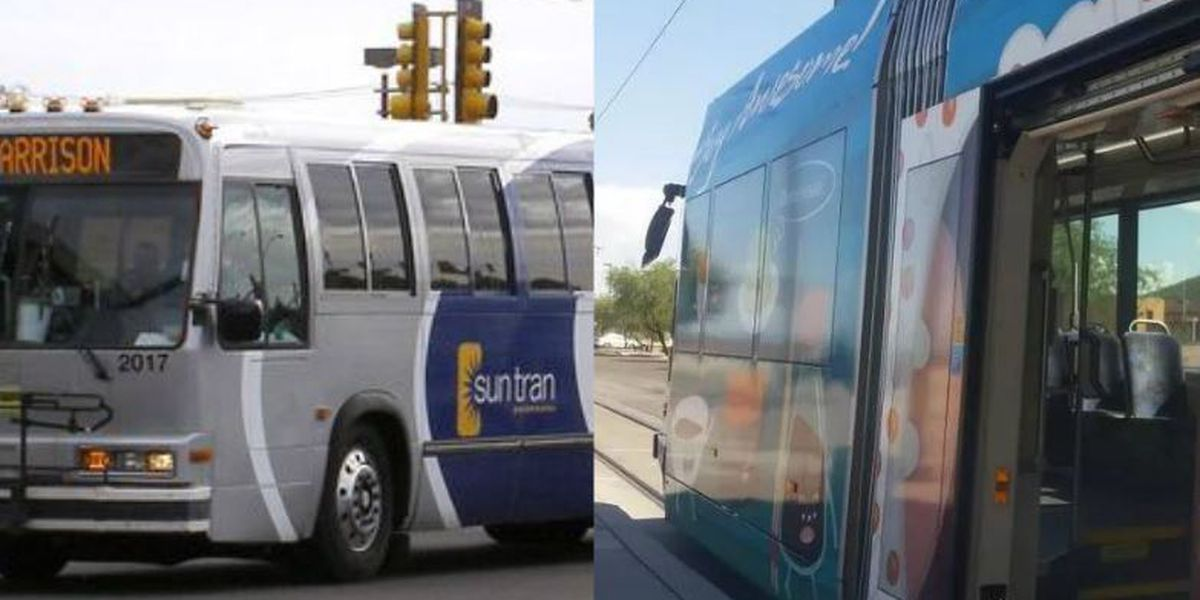 Sun Tran will now hold lost and found items from buses and streetcar
