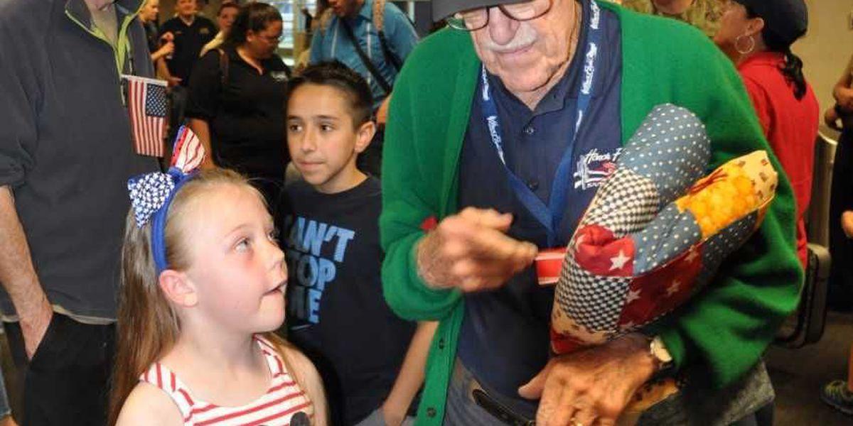 Girl, 9, helps send veterans on Honor Flight