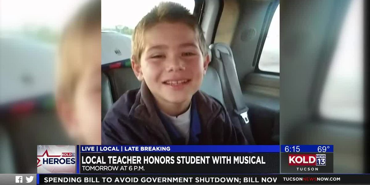 KOLD HEROES: Local teacher honors student with musical
