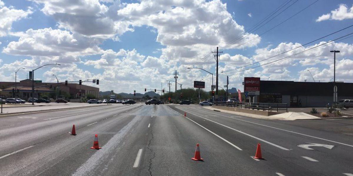 UPDATE: Orange Grove back open after hydraulic fluid spill