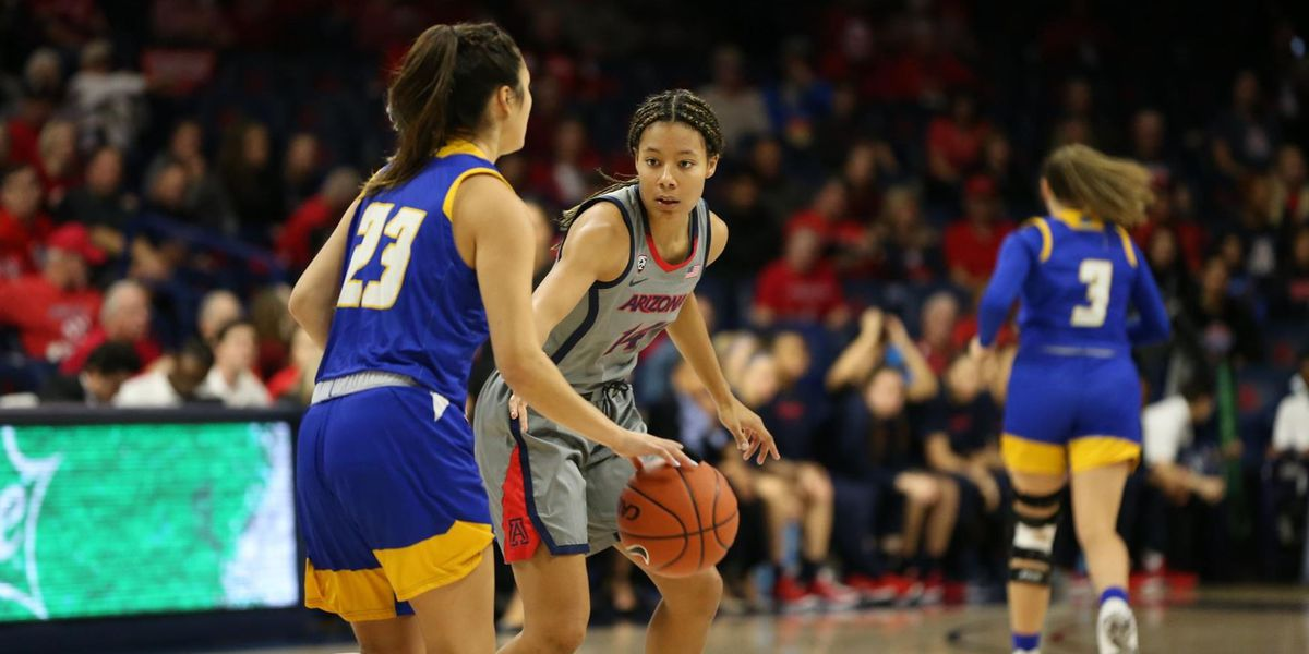 No. 18 Wildcats wrap up non-conference play with rout of UC Santa Barbara