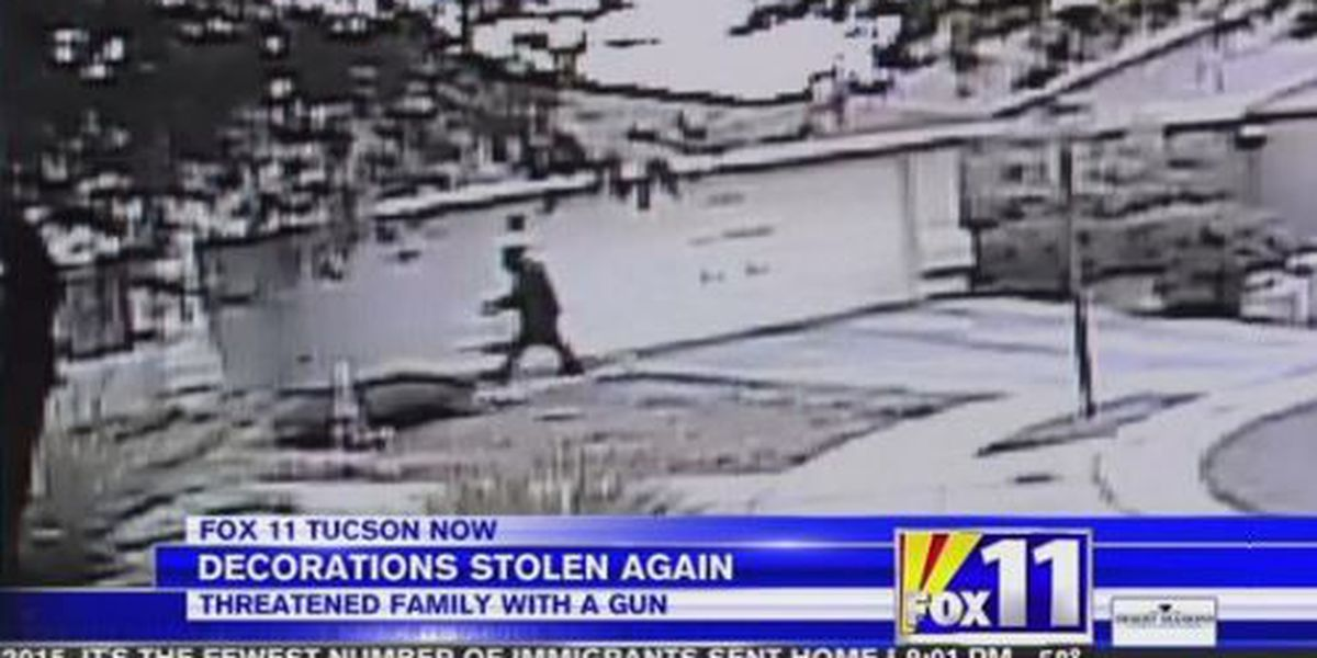 Christmas decorations stolen from Tucson home at gunpoint