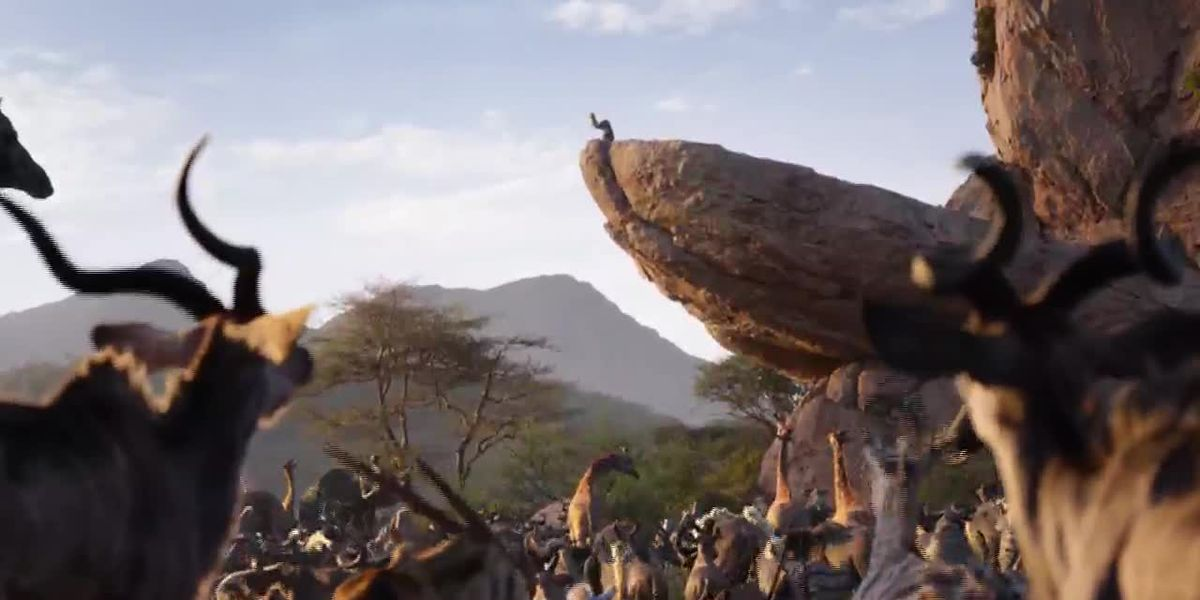 'Lion King' breaks records in debut weekend