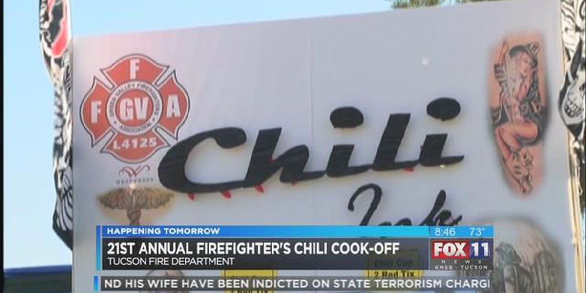 21st Tucson Firefighter's Chili Cook-Off raising money this weekend