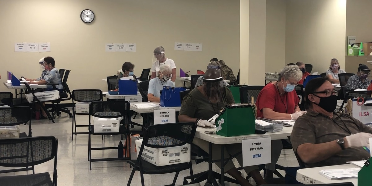 Record number of early ballots returned in Pima County