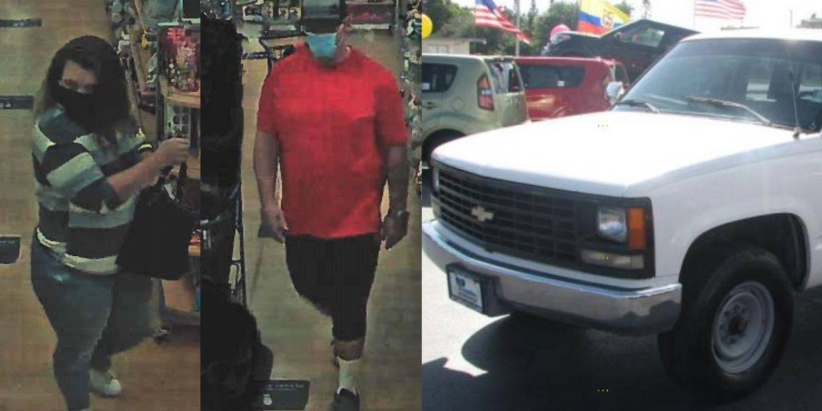Oro Valley police search for Marshall's theft suspects