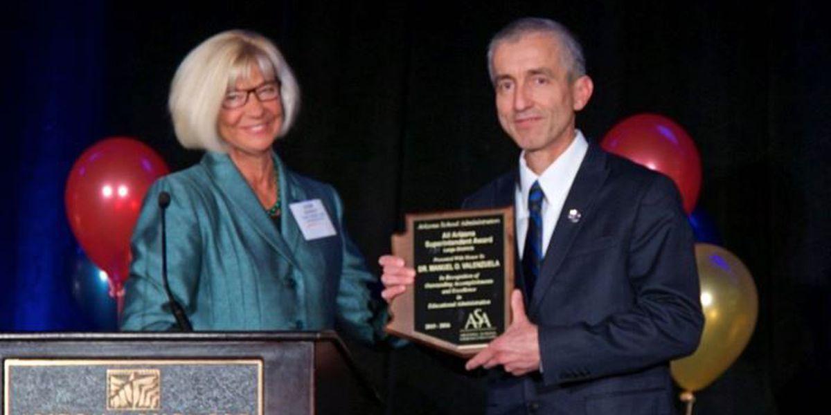 Sahuarita schools superintendent wins statewide honor