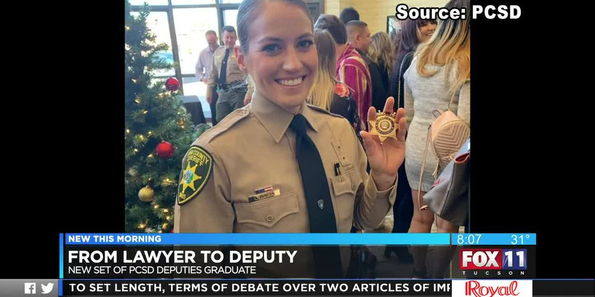 Making her own path - from lawyer to deputy