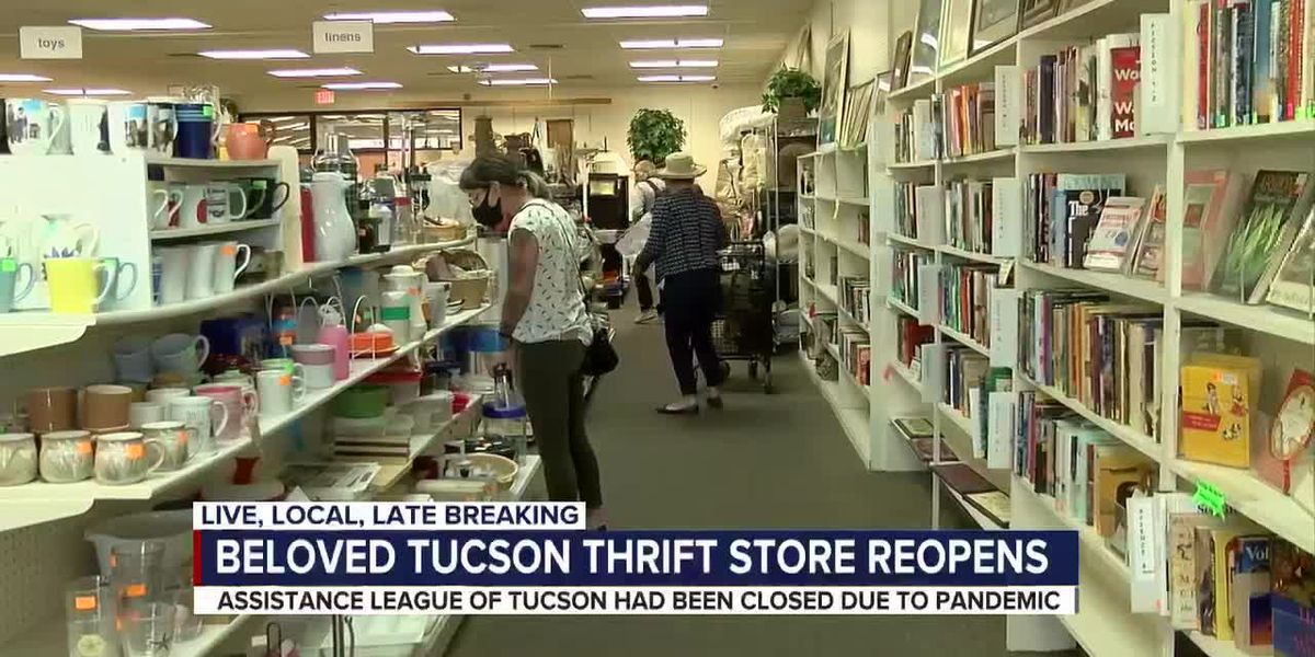 Beloved Tucson thrift store reopens