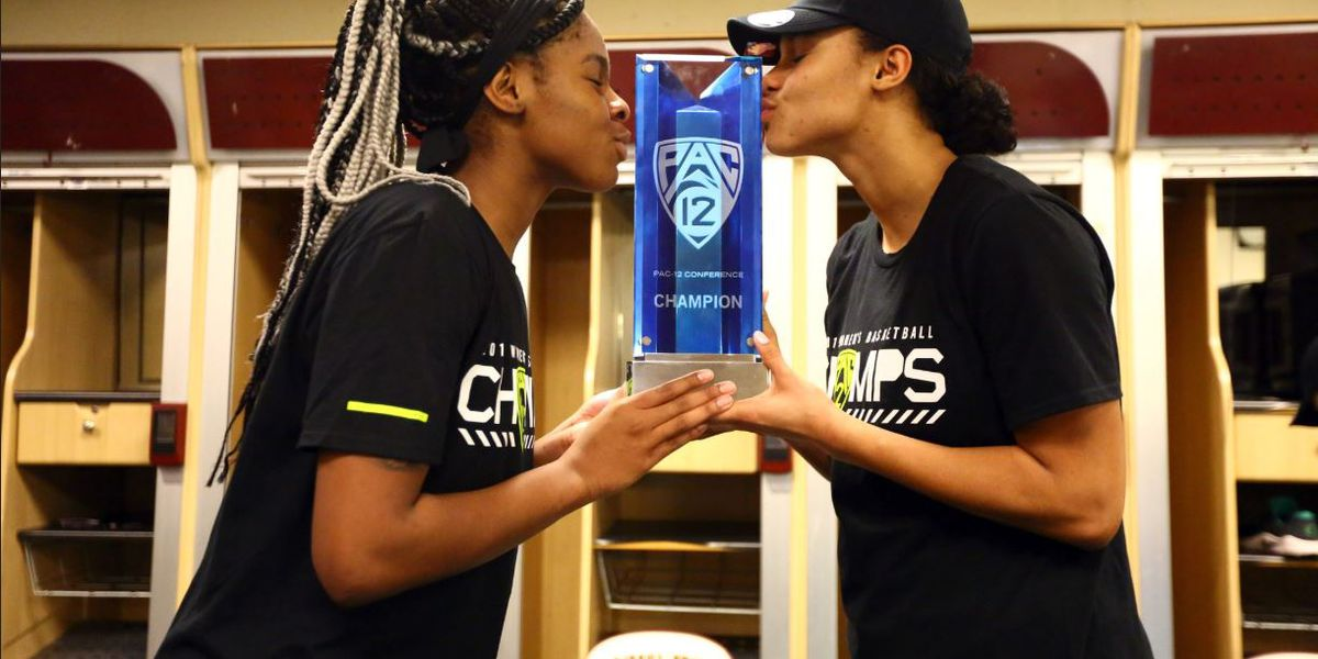 Ionescu, No. 6 Oregon pull away from ASU, win Pac-12 title