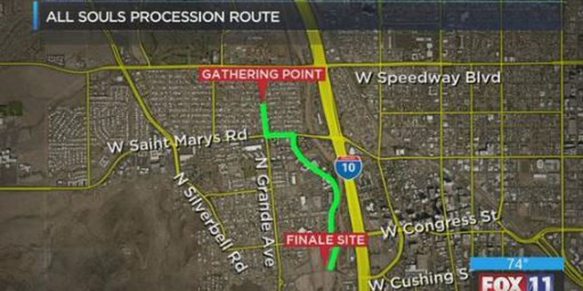 Security measures in place for 'All Souls Procession'