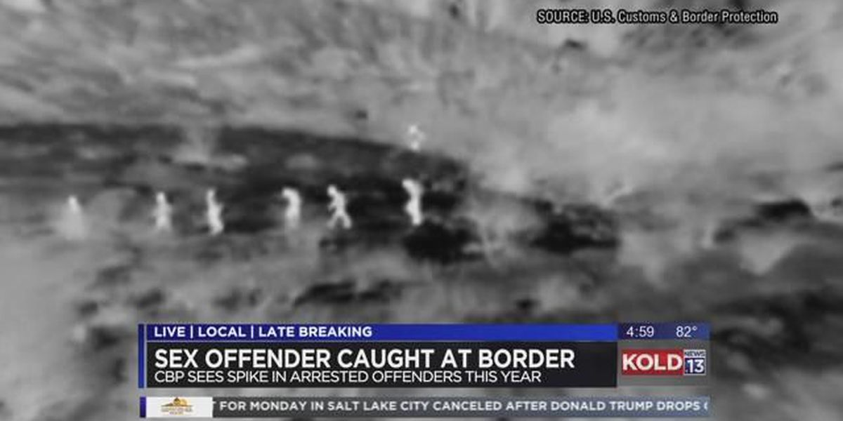 10 sex offenders among illegal immigrants arrested this month by Border Patrol