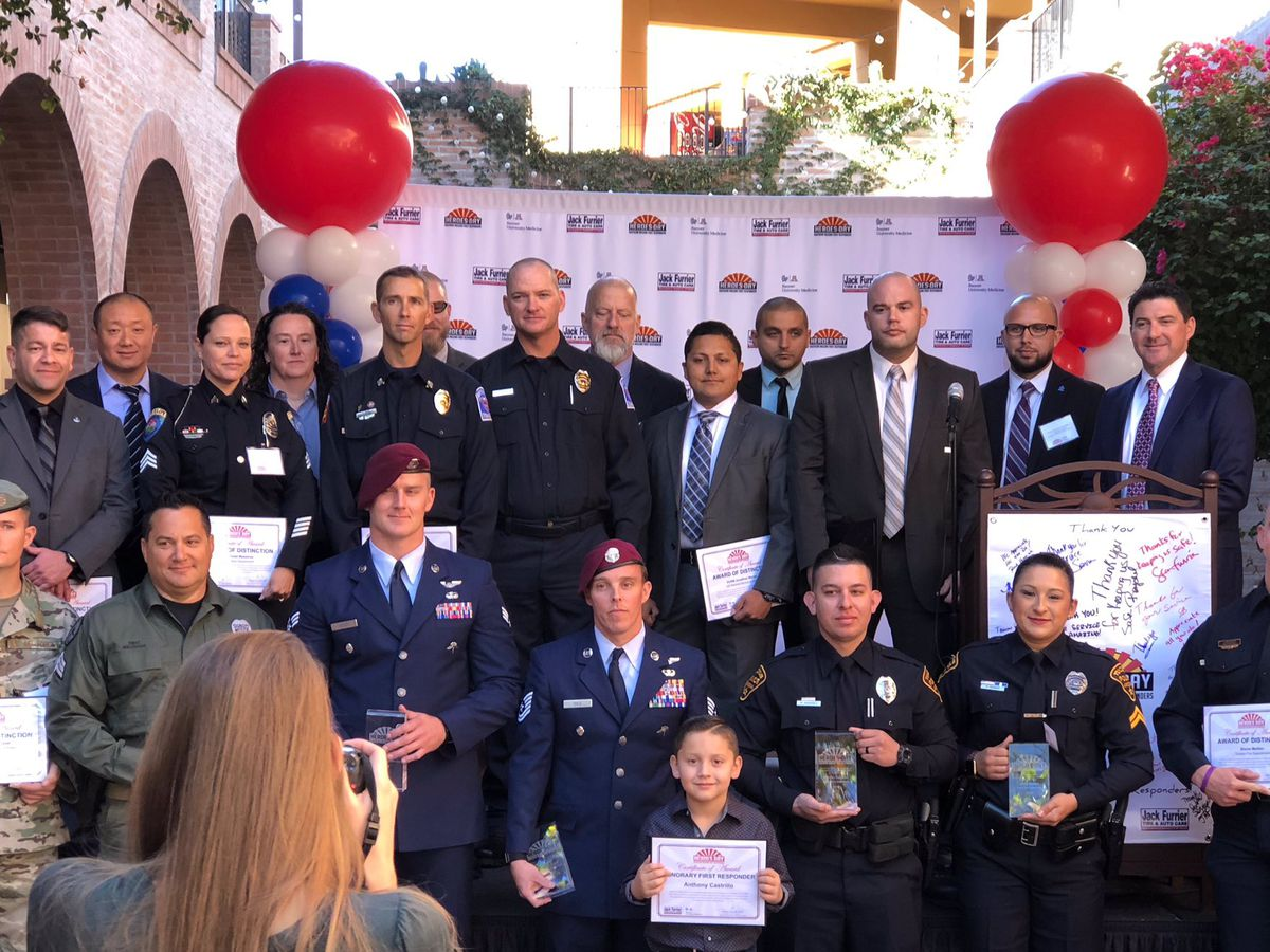 First responders honored during Heroes Day 2018