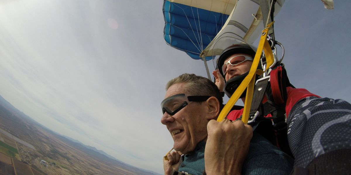 PCSD sergeant lives his skydiving dream