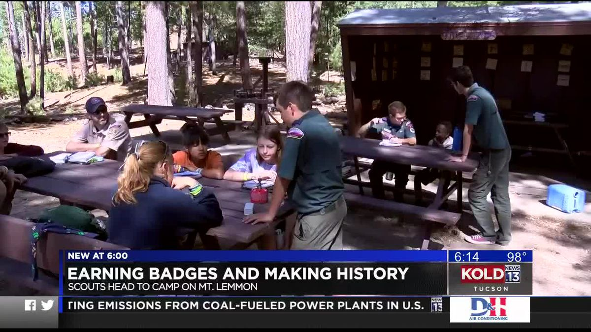 Earning badges and making history