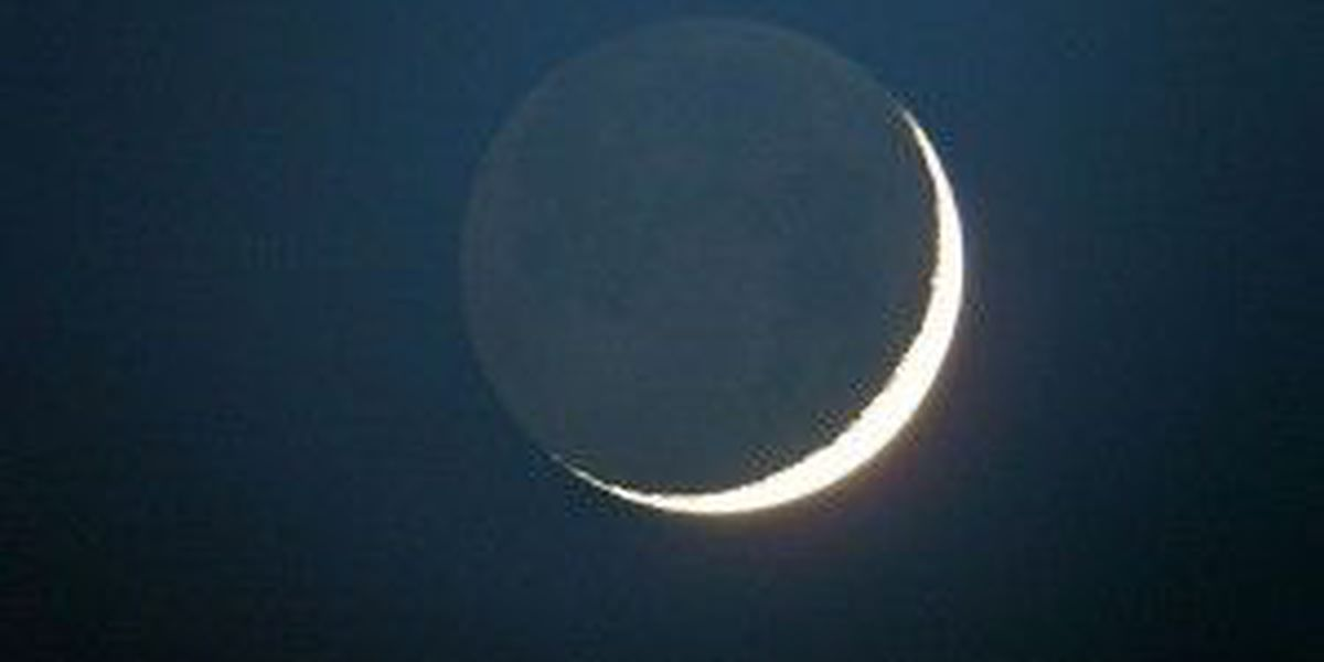 Have you ever noticed earthshine on the moon?
