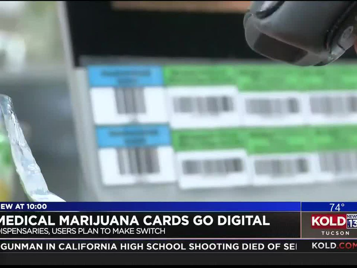 Medical marijuana cards to go digital