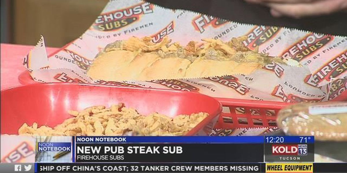 What's For Lunch: Pub Steak Sub - Firehouse Subs