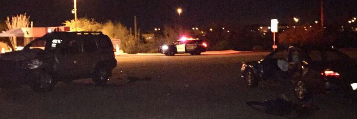 UPDATE: Driver dies after crash near I-10 and Rita Road