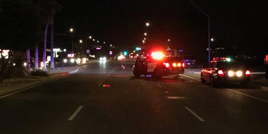 UPDATE: Pedestrian dies after being struck by vehicle Saturday night