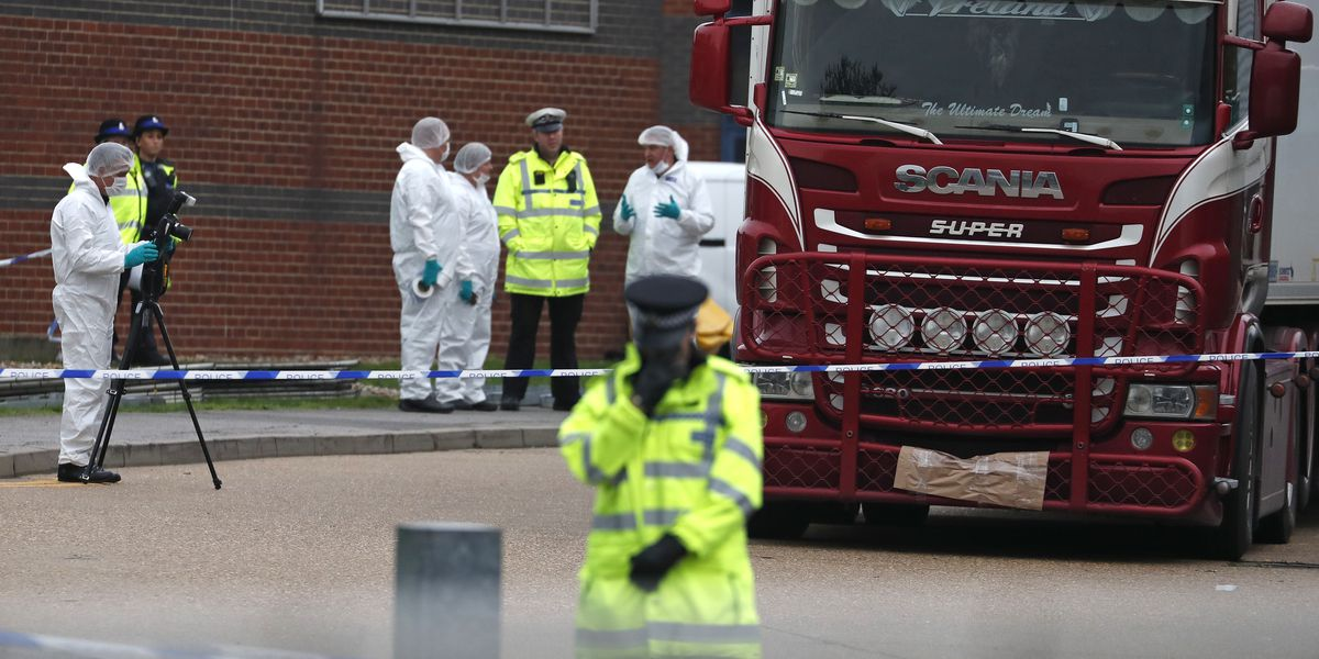 UK police identify truck victims; 10 teenagers among 39 dead
