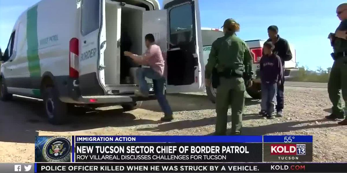 New Tucson Sector Chief of Border Patrol