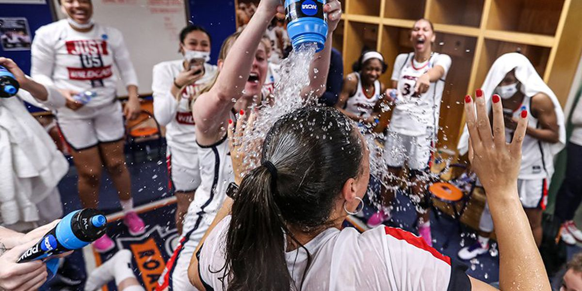 Wildcats shock UConn to advance to NCAA championship game